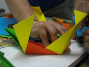 1 Group origami polyhedron1