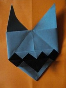 2a origami dog for blog