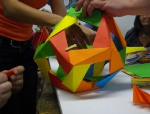 3 Group origami polyhedron3