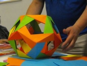 4 Group origami polyhedron4