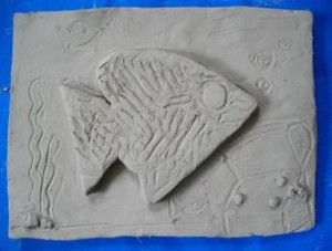 Fish 1 unfired