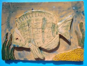 Fish 3 glazed
